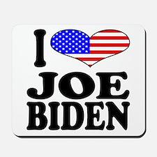 I Love Joe Biden Mousepad