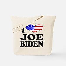 I Love Joe Biden Tote Bag