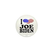 I Love Joe Biden Mini Button (10 pack)