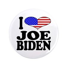 "I Love Joe Biden 3.5"" Button"