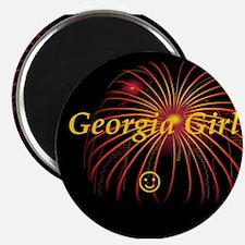 Hot Georgia Girl! Magnet