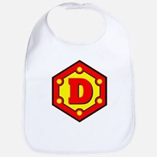 Super D Logo Costume 10 Bib