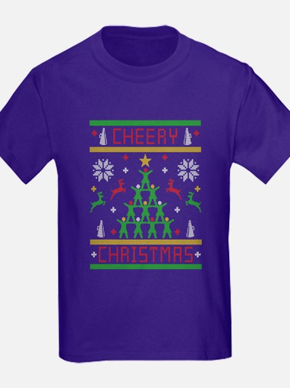 Cheery Christmas Cheering Ugly Christmas S T-Shirt