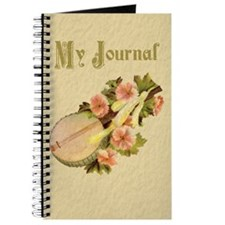 Lute with Flowers Journal