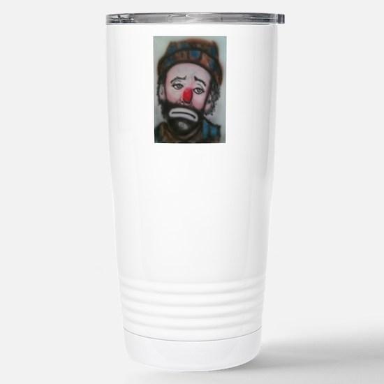 Sad Face Travel Mug