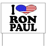 I Love Ron Paul Yard Sign