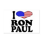 I Love Ron Paul Mini Poster Print