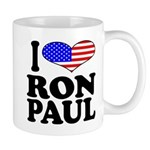 I Love Ron Paul Mug