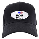 I Love Ron Paul Black Cap