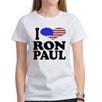 I Love Ron Paul Women's T-Shirt