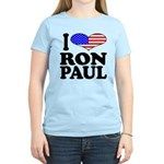I Love Ron Paul Women's Light T-Shirt