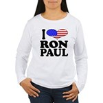 I Love Ron Paul Women's Long Sleeve T-Shirt