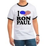 I Love Ron Paul Ringer T