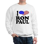 I Love Ron Paul Sweatshirt