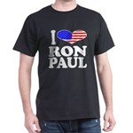 I Love Ron Paul Dark T-Shirt