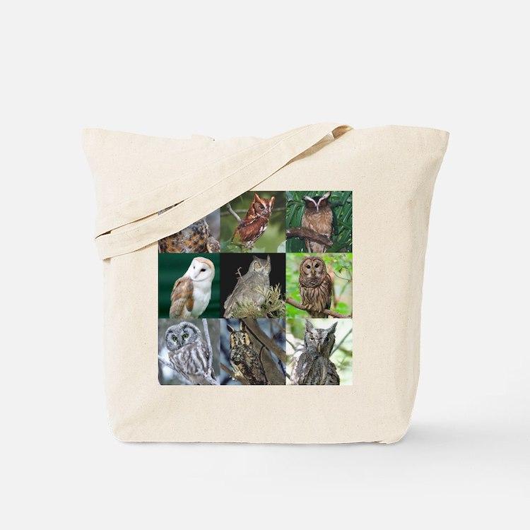 Cute Laughing owl Tote Bag