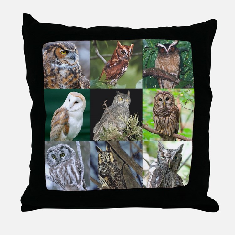 Cute Eagle personalized Throw Pillow