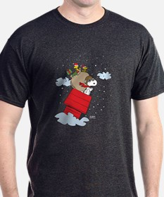 Flying Ace Santa T-Shirt