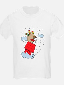 Flying Ace Santa T-Shirt
