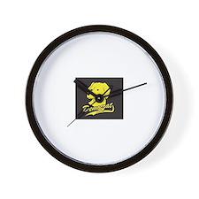 Yellow Dog Democrat Wall Clock