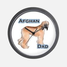 Afghan Dad4 Wall Clock
