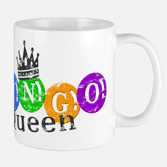 BINGO QUEEN Mugs