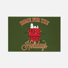 Home for the Holidays Rectangle Magnet