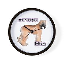 Afghan Mom4 Wall Clock