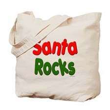 Santa Rocks Tote Bag