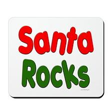 Santa Rocks Mousepad
