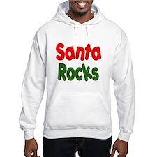 Santa Rocks Hoodie
