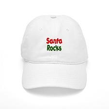 Santa Rocks Baseball Cap