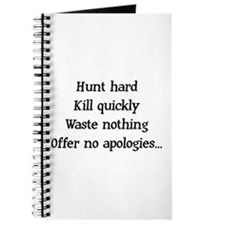 Hunt Hard Journal