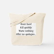 Hunt Hard Tote Bag