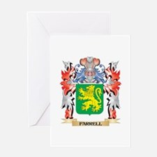 Farrell Coat of Arms - Family Crest Greeting Cards