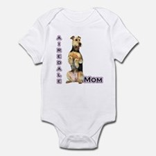 Airedale Mom4 Infant Bodysuit