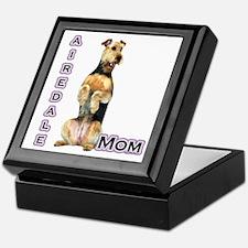 Airedale Mom4 Keepsake Box