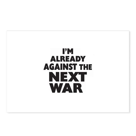 Already Against the Next War Postcards (Package of