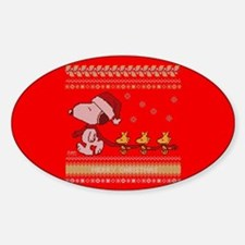 Snoopy Ugly Christmas Decal