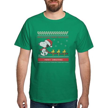 Peanuts Christmas T-shirts - CafePress