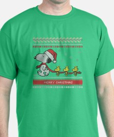 Snoopy Ugly Christmas T-Shirt