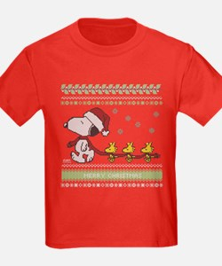Snoopy Ugly Christmas T