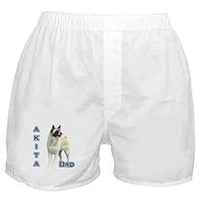Akita Dad4 Boxer Shorts