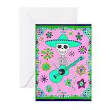 Dia de los muertos Greeting Cards (10 Pack)