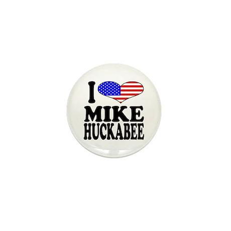 I Love Mike Huckabee Mini Button (10 pack)