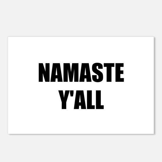 Namaste Yall Postcards (Package of 8)