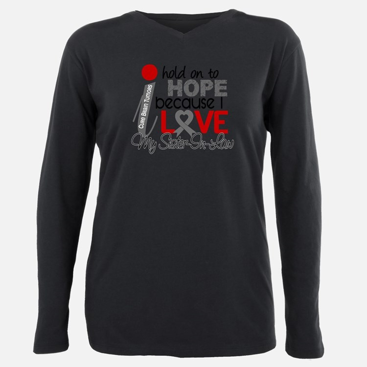 Cute Support heart disease awareness Plus Size Long Sleeve Tee