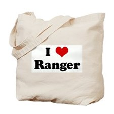 I Love Ranger Tote Bag