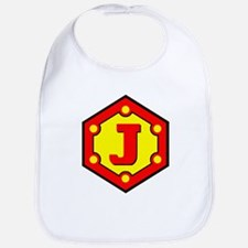 Super J Logo Costume 10 Bib