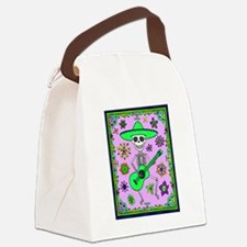 Best Seller Day of the Dead Canvas Lunch Bag